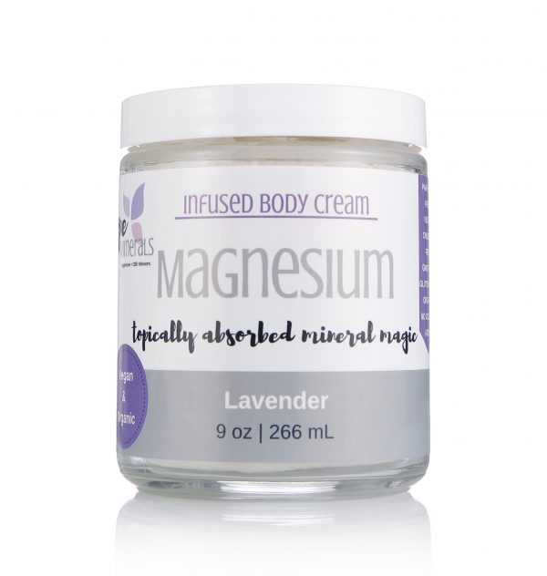 Lavender Magnesium cream for fibromyalgia, pain relief cream, sleep remedy, insomnia remedy, magnesium miracle, cure restless legs, get rid of muscle cramps