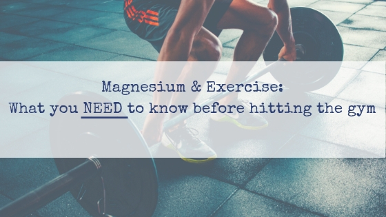 Magnesium and exercise, athletes, recovery and sore muscles