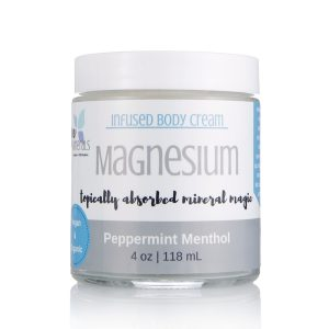 Peppermint Magnesium cream for fibromyalgia, pain relief cream, sleep remedy, insomnia remedy, magnesium miracle, cure restless legs, get rid of muscle cramps, headache remedy