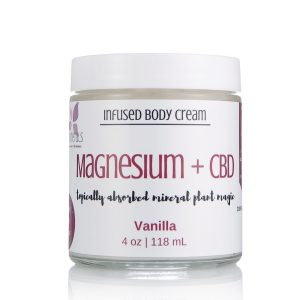 Vanilla Magnesium cream for fibromyalgia, pain relief cream, sleep remedy, insomnia remedy, magnesium miracle, cure restless legs, get rid of muscle cramps, CBD oil, Full Spectrum CBD Oil