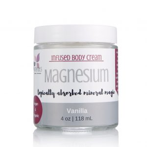 Vanilla Magnesium cream for fibromyalgia, pain relief cream, sleep remedy, insomnia remedy, magnesium miracle, cure restless legs, get rid of muscle cramps, headache remedy